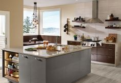 10 Gray Kitchens That Will Make You Rethink Everything: Try a Subtle Gray Accent for a Beach-Inspired Kitchen
