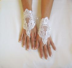 One of several styles of gloves I have to go through at this shop and pick one for the wedding... So many beautiful choices!
