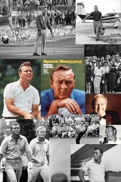 Arnold Daniel Palmer (9/10/1929) is generally regarded as one of the greatest players in professional golf history. Nicknamed 'The King', he is one of golf's most popular stars and its most important trailblazer, because he was the first superstar of the sport's television age, which began in the 1950's. Palmer won the PGA Tour Lifetime Achievement Award in 1998, and in 1974 was inducted into the World Golf Hall of Fame. Mr. Palmer died yesterday, September 25, 2016. He was 87 years old.