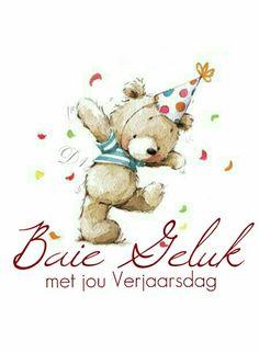 Baie geluk met jou Verjaarsdag