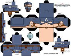 DeviantArt: More Like Guardians Of the Galaxy Cubeecraft 3D - model by JagaMen