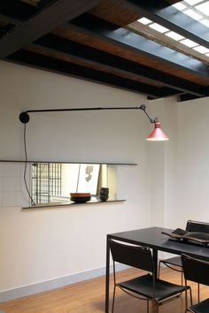 lampe Gras - from wall, make post extendable
