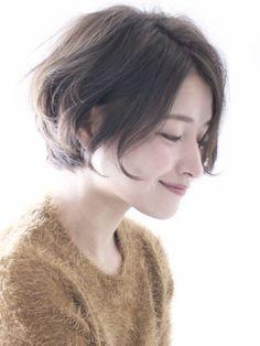 ≪ 2017 春 : 新着順 ≫ ミズ 30代・40代ヘアスタイル髪型 | beauty-box.jp:1 Short Hairstyles For Women, Pretty Hairstyles, Wig Hairstyles, Short Hair Cuts, Short Hair Styles, Cabello Hair, Cute Haircuts, Asian Hair, Wig Styles