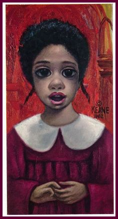 """The Choir Girl"" ~ Margaret Keane, 1962"