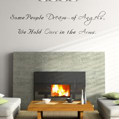 Some People Dream of Angels Wall Decal