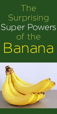 Bananas: Fruit of the Zoom - This is interesting. After reading this, you'll never look at a banana in the same way again. Healthy eating Facts.