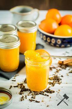 Orangenmarmelade mit Zimt und Nelken (Diy Christmas Recipes)