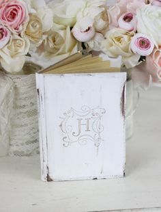Guest Book Shabby Chic Decor