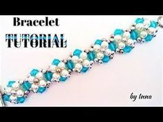 Diy beaded bracelet Best Picture For Crochet basket For Your Taste You are looking for something, and it is going to tell. Beaded Bracelets Tutorial, Diy Bracelets Easy, Beaded Bracelet Patterns, Beading Patterns, Bracelet Making, Jewelry Making, Armband Diy, Diy Schmuck, Diy Earrings