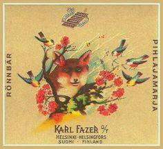 Alkuperäinen Pihlaja. Retro Design, Graphic Design, Power Animal, Commercial Ads, Love At First Sight, Helsinki, Finland, Childhood Memories, Nostalgia