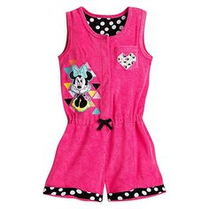 03044f92a04c Disney Minnie Mouse Swim Cover-Up For Girls - Pink Swim Cover Ups