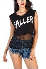 Baller Top - Black