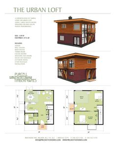 1000 images about small home plans on pinterest timber for Small urban house plans