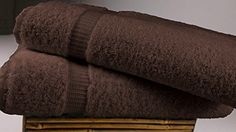 "Turkish Luxury Hotel & Spa 30""x60"" Bath Sheet Set of 2 - 100% Genuine Cotton from Turkey - 700gsm Organic, Eco-Friendly (Bath Sheets, Chocolate) SALBAKOS http://www.amazon.com/dp/B00KQQTVNK/ref=cm_sw_r_pi_dp_a5Vjvb0WWACKY"