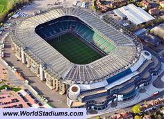 Twickenham Stadium in London