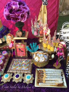 Ever After High Birthday Party Ideas | Photo 1 of 50 | Catch My Party