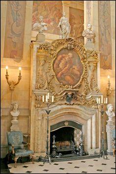 Castle Howard Great Hall. Yorkshire, England, UK