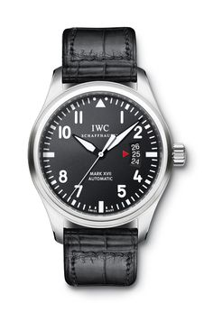 IWC Pilot's Watch Mark XVII. Ref. IW326501. 41mm (Click on photo for high-res. image.) Photo found here: http://www.iwc.com/en/collection/pilots/IW3265/