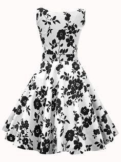 vintage dresses,floral vintage dresses,print vintage dresses,1950's vintage dresses,summer dresses