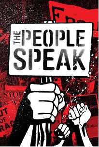"""See Howard Zinn's final work, the 2009 documentary film The People Speak, which he directed, wrote and produced. The film is available to stream in the United States on iTunes (https://itunes.apple.com/us/tv-season/the-people-speak/id257241074) and rent on Netflix on DVD (http://dvd.netflix.com/Movie/The-People-Speak/70118365)."""