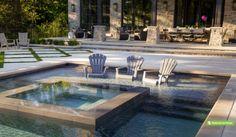 Backyard Luxury on a Grand Scale : Betz Pools