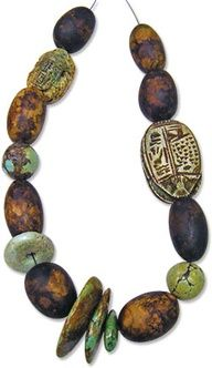 sgraffito enameling   Debbie Jackson's polymer ancients   Polymer Clay Daily