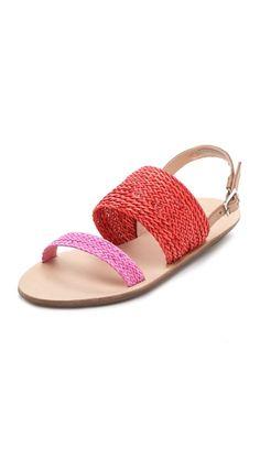d8eb0fca87cd  175 Loeffler Randall Dree Woven Sandals