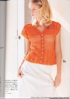7 pretty crochet top patterns