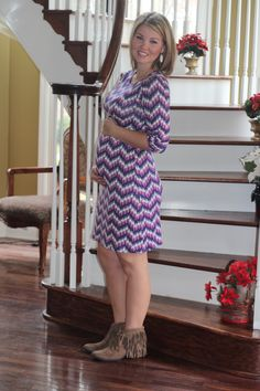 Pixley Lyra Chevron Print Dress I love love love this dress! It's so perfect for maternity and non-maternity days, and so comfortable too! Stitch Fix Maternity, Chevron Print Dresses, Stitch Fit, Stitch Fix Outfits, Spring Fashion Outfits, Stitch Fix Stylist, Maternity Fashion, Color Patterns, Cute Dresses