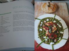 Spiced Chicken, Bacon, Asparagus & Spinach Lentils / Jamie Oliver 15 minute meals
