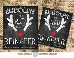 Printable christmas decorations. Everyone loves rudolph! Makes a great decoration item or gift. Click through for instant cards, customizable cards, holiday decor and more. Or shop our 900+ designs for weddings, anniversaries, new babies, graduations, and more. 5d