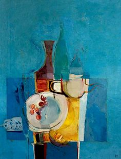 Donald Hamilton Fraser Still Life with Cherries 1955