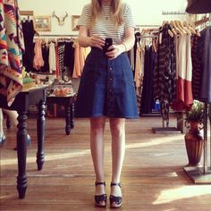 cute summer outfit with clogs