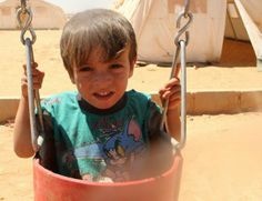 Al Zaatari refugee camp Syria Crisis, Two Year Olds, Four Square, September, Camping, Children, Campsite, Young Children, Boys