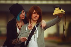 Life Is Strange - Max and Chloe by MilliganVick on DeviantArt