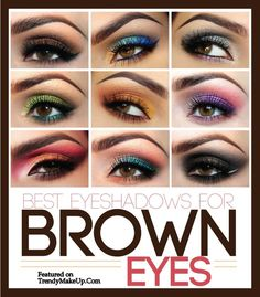 Love these eyeshadows perfect for my eyes