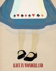 Alice In Wonderland Art Print by Magicblood  http://society6.com/product/Alice-In-Wonderland-RMx_Print