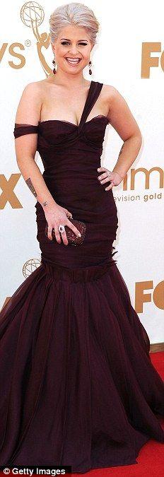 Kelly Osbourne in J. Mendel at the 2011 Emmys