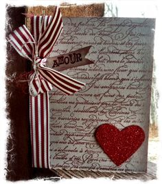 Easy Valentine Card  www.inkandinspirations.com