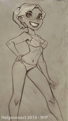 UUugh, I've been really sick for the past couple of weeks, spending 8 out of the past 12 days in bed with fever, coughing, a sore throat and headache. Finally, I'm starting to feel better, so after almost a week of no drawing (Mad Men and Stephen Fry's narrated Harry Potter thank you!!), I drew a pinup today to try to get back into the groove! Cheers ya'll!
