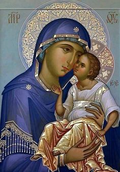 Religious Images, Religious Art, Byzantine Icons, Russian Orthodox, Holy Family, Orthodox Icons, Serbian, Sacred Art, Ikon