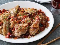 Chicken Cacciatore from CookingChannelTV.com Deb & Gabriel