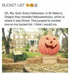 Real life halloweentown!! In st. Helen's,  Oregon