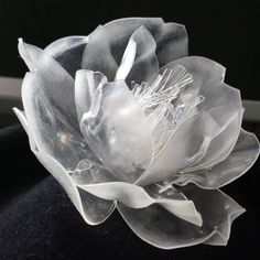 Thermoplastic flower- Mind Your Bonce Millinery by Karen Geraghty