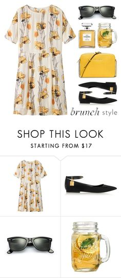 """""""Brunch Style"""" by lgb321 ❤ liked on Polyvore featuring Toast, Tom Ford, Chanel, Ray-Ban and MICHAEL Michael Kors"""