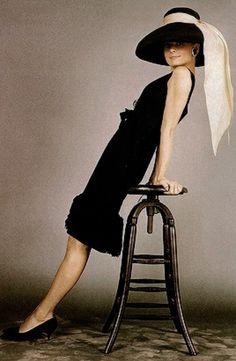 James Dean, Audrey Hepburn & Marlon Brando — Audrey Hepburn, October 1960
