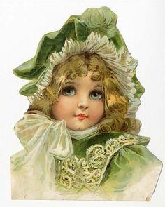 Dressy vintage girl