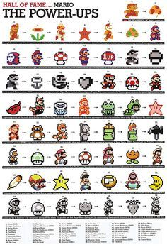 #Mario Hall of Fame! #mariobros #retrogaming #retro #gaming #8bit #16bit #nintendo #GBA