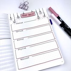 Plan With Me - May 2018 - Bullet Journal Setup - Monthly Focus