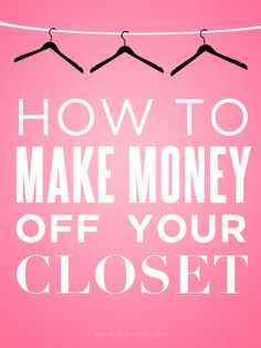 How To Turn Your Old Clothes In To Cash